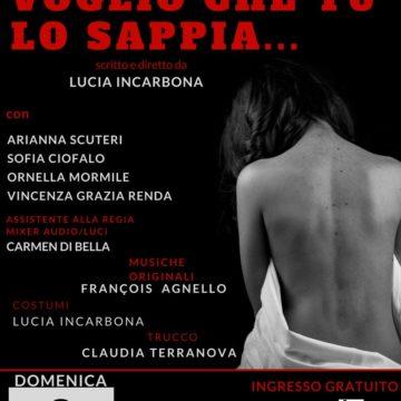 """""""Voglio che tu lo sappia"""": spettacolo su quattro donne del mito e della letteratura siciliana"""